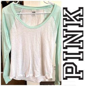 Pink VS Long Sleeve Shirt Medium